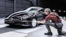 مرسدس-بنز-A-کلاس،-آیرودینامیک-ترین-خودروی-جهان-شد