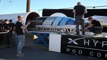 مدل-آزمایشی-هایپرلوپ-به-سرعت-۴۶۷-کیلومتر-بر-ساعت-رسید
