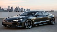 مدل مفهومی آئودی E-Tron GT رونمایی شد