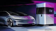 فولکس-واگن-از-ایستگاه-شارژ-سریع-سیار-برای-خودروی-برقی-رونمایی-کرد